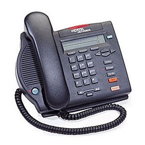 Nortel-M3902-NTMN32GA70-digital-phone-charcoal-left